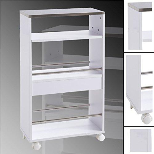 rollcontainer aus edelstahl. Black Bedroom Furniture Sets. Home Design Ideas