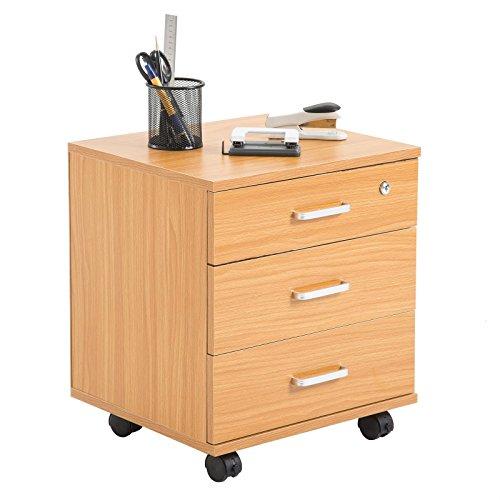 abschlie barer rollcontainer. Black Bedroom Furniture Sets. Home Design Ideas