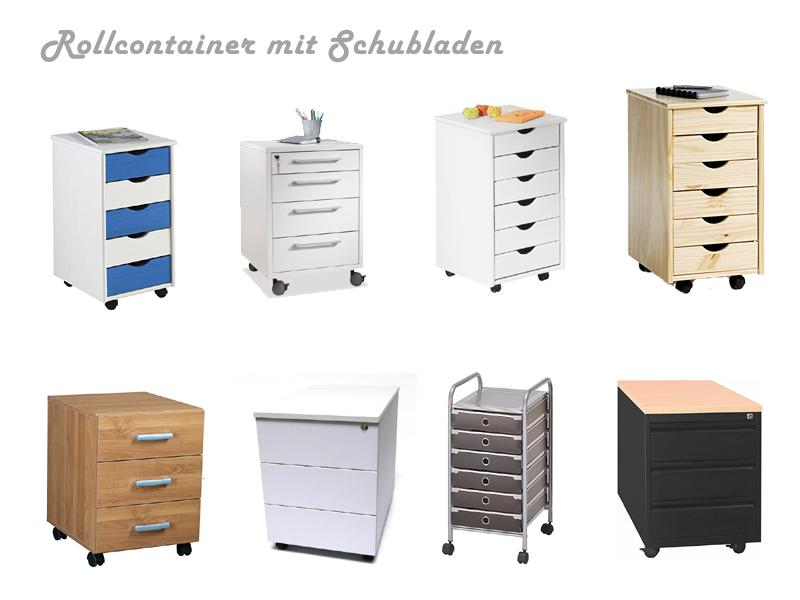 Rollcontainer Mit Schubladen