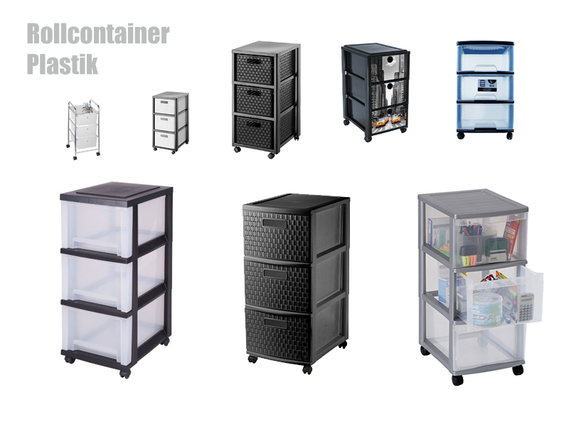Rollcontainer Plastik