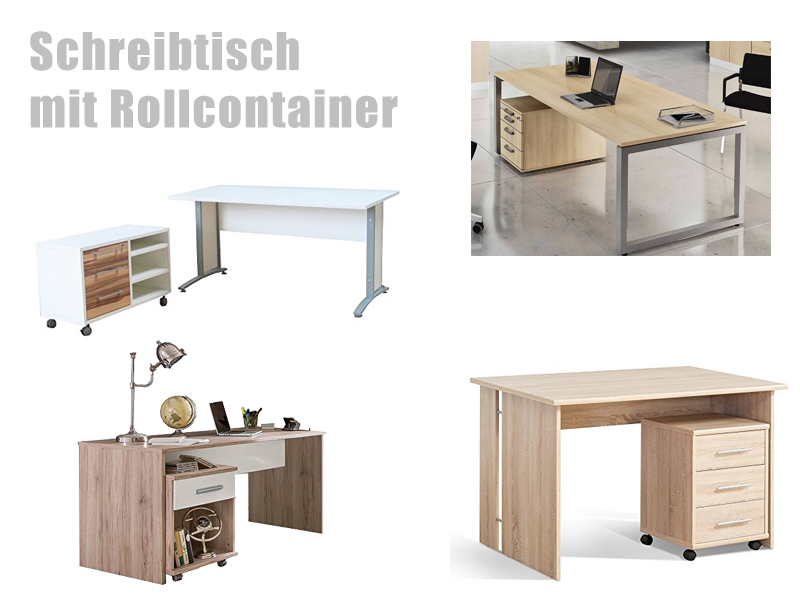 rollcontainer schreibtisch. Black Bedroom Furniture Sets. Home Design Ideas